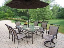 Patio Set Umbrella Stunning Patio Furniture With Umbrella Patio Decorating Photos