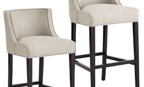 bar dark grey with cuhsion counter height bar stools for modern