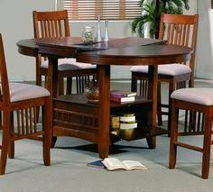 round butterfly leaf table brown mission counter height round butterfly leaf table with storage