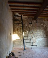 our renovation in provence a spiral staircase curious provence