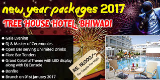 tree house bhiwadi delhi new year packages 2018