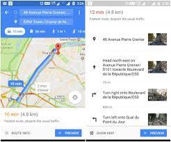 Google Maps Navigation Google Maps Recent Update Integrates Street View For Turns