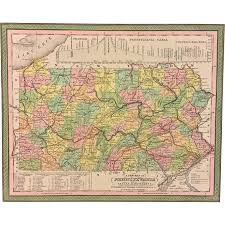 Maps Of Pennsylvania by Antique