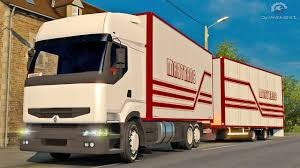 renault truck premium renault premium tandem ets2 euro truck simulator 2 youtube