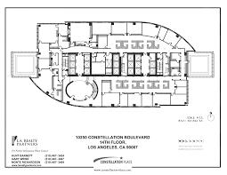 exploded floor plan constellation place 10250 constellation boulevard 14th floor vts