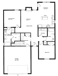 Floor Plans For 1500 Sq Ft Homes Small House Plans 1400 Sq Ft Homeca