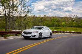 2018 acura tlx reviews and 2018 acura tlx sh awd a spec front three quarter in motion 02