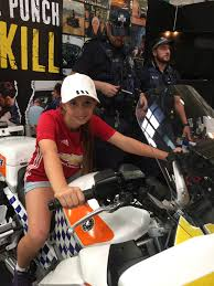 cairns show police display a hit with kids of all ages far north