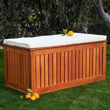 outdoor storage wood bench furniture arcade house furniture patio