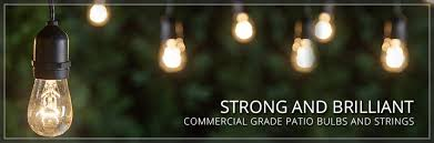 Commercial Grade Patio Light String by Commercial Patio Lights