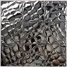 mosaic tile stainless steel tile patterns kitchen backsplash wall