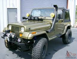 jeep yj snorkel jeep wrangler yj with small block chevy
