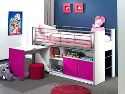 bureau pour mezzanine lit sureleve enfant lit mezzanine enfant fille lit mezzanine
