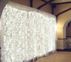 White Christmas Lights Wedding Decorations by 6mx3m 600 Led Waterfall Outdoor Christmas Fairy String Curtain