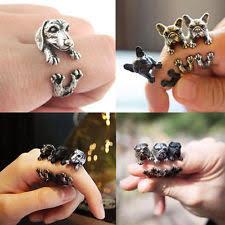 antique animal ring holder images Dog ring ebay jpg
