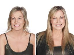 clip in hair extensions before and after hairdiamond italia hair extensions and accessories before and