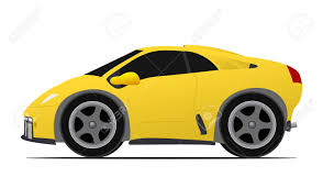 porsche vector italian mini yellow race car royalty free cliparts vectors and
