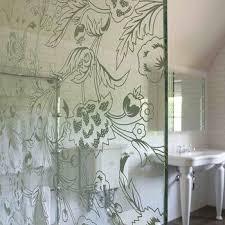 Etched Bathroom Mirror Ceiling Height Bathroom Mirror Design Ideas