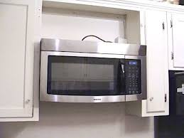 how to install over the range microwave without a cabinet over the range microwave design i like the bead board back and the