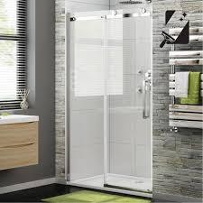Sliding Shower Door 1200 1400mm 8mm Luxe Frameless Easyclean Sliding Shower Door Pt