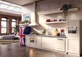 kitchen style luxurious white retro kitchen floor ideas with