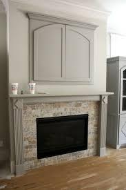 tv above gas fireplace binhminh decoration