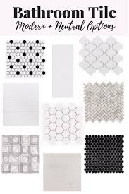 Black And White Bathroom Tiles Ideas by Best 25 Black And White Bathroom Ideas Ideas On Pinterest