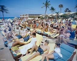 sunbathing at the americana hotel pictures getty images