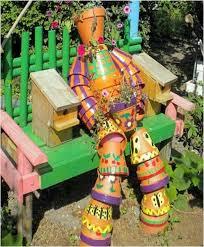 86 best pot men images on pinterest decorated flower pots
