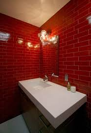 bathroom design magnificent dark red bathroom red and grey