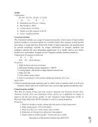 Resume For Factory Job by Machining And Thermal Aspects Mgu S8 Me