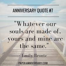 wedding quotes emily bronte 20 anniversary quotes for sweep paper