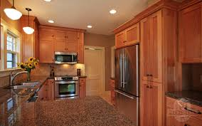 Shaker Cherry Kitchen Cabinets Kitchen Remodeling New Construction Natural Cherry Kitchen