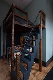 Plans To Build A Bunk Bed Ladder by Loft Bed Staircases And Designs With Various Functionalities