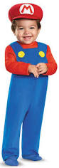 Mario Costumes Halloween Super Mario Bros Toddler Mario Costume Birthdayexpress