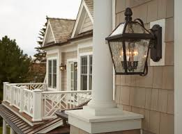 Exterior House Lights Fixtures Story Shingle Style Exterior Lighting Project Brass Light Gallery