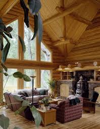 Interior Of Log Homes by Old Style Log Works Gallery Of Log Homes