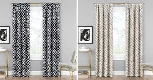 Regular Curtains As Shower Curtains Up To 70 Off Eclipse Blackout Curtains At Kohl U0027s U2013 Hip2save