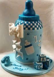 cake designs for baby shower for boys