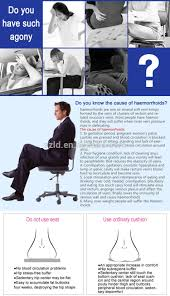Back Pain Chair Cushion Sciatica Relief Seat Cushion Coccyx Back Pain Relief Multi Purpose