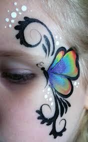 butterfly eye this simple design simpele vlinder schmink