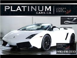 lamborghini gallardo for sale toronto used 2009 lamborghini gallardo lp 560 spyder heffner turbo