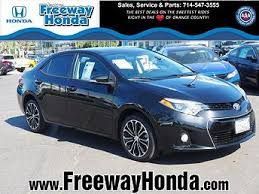 toyota corolla sport 2014 for sale 2014 toyota corolla for sale with photos carfax