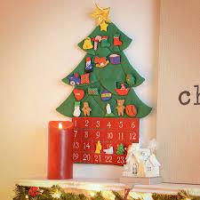 amazon com kubla crafts stuffed oh christmas tree fabric advent