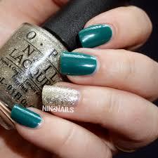 opi amazoff and my favorite ornament nik nails