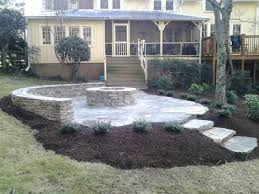 outdoor seating areas tryon and landrum landscaping