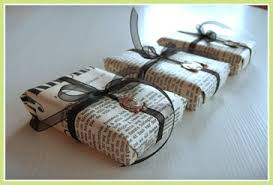 newspaper wrapping paper eco friendly gift wrapping best family traditions