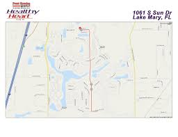 Lake Mary Florida Map by Healthy Heart Run Walk 2015 Course