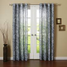 Samoan Home Decor by Decorating Blue Rod Pocket Paisley Curtains For Chic Windows