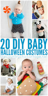 diy halloween costumes for baby the country chic cottage
